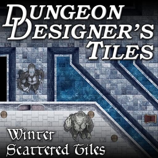 Dungeon Designers Tiles - Winter Scattered Tiles