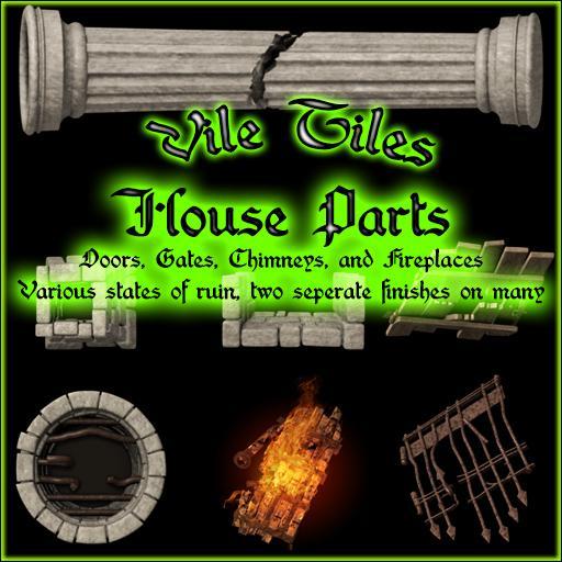 Vile Tiles: House Parts