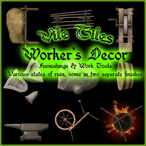 Vile Tiles: Worker's Decor