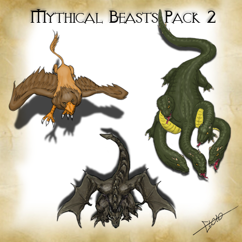 Mythical Beasts Pack 2