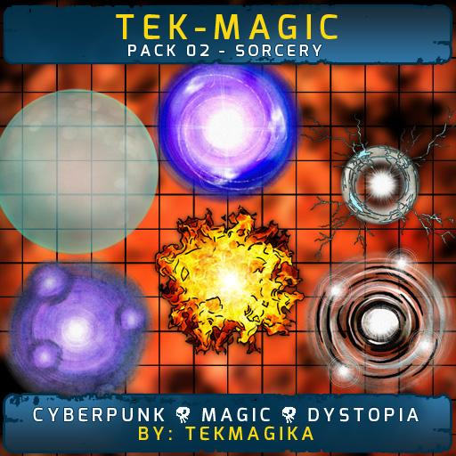 Tek-magic Pack 2 - Sorcery