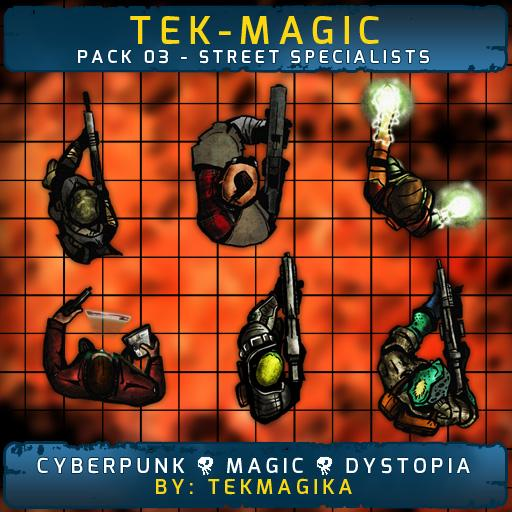 Tek-magic Pack 3 - Street Specialists