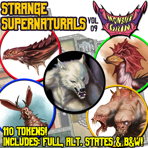 Strange Supernaturals, Vol. 9
