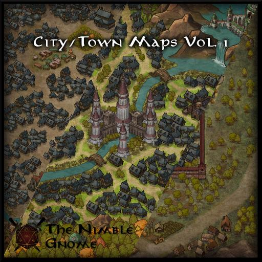 City & Town Maps Volume 1