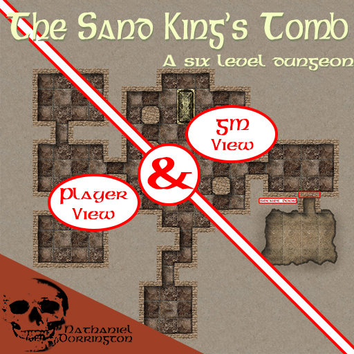 The Sand King's Tomb