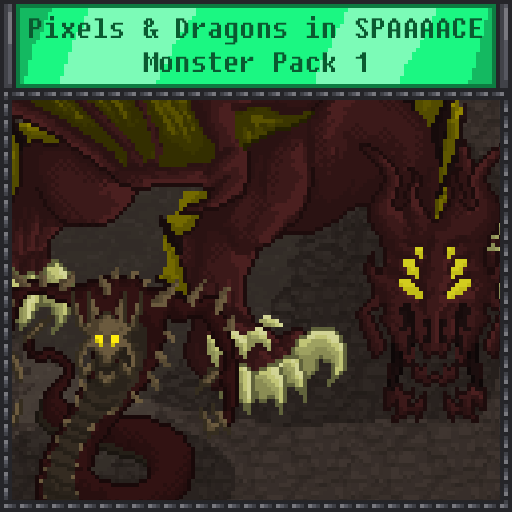 Pixels and Dragons in SPAAAACE - Monster Pack 1