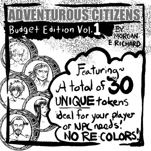Adventurous Citizens - Budget Edition Volume 1