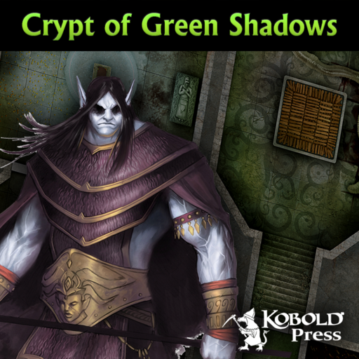 Eldritch Lairs: Crypt of Green Shadows