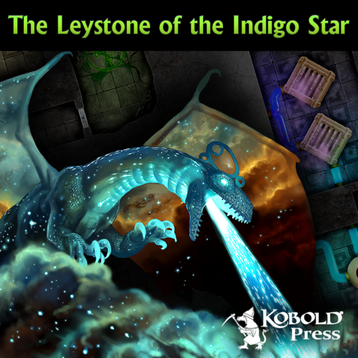Eldritch Lairs: The Leystone of the Indigo Star