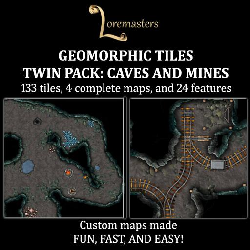 Geomorphic Cave & Mine Tile Bundle