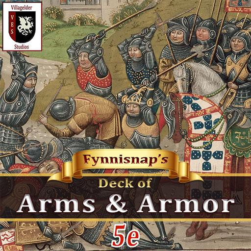 Fynnisnap's Deck of Arms & Armor