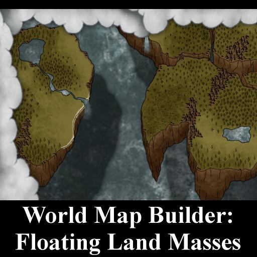 World Map Builder: Floating Land Masses