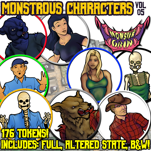 Monstrous Characters, Vol. 5