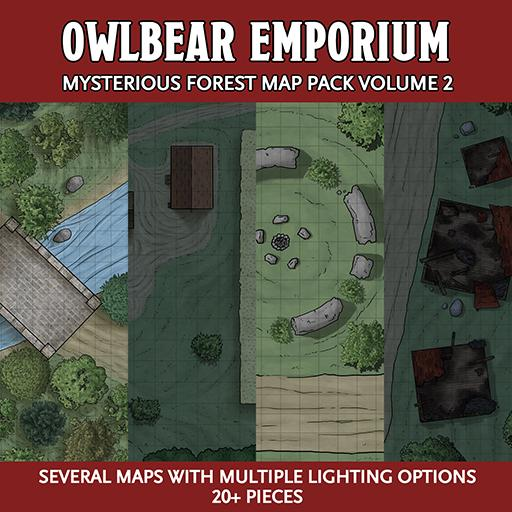 Mysterious Forest Map Pack Volume 2