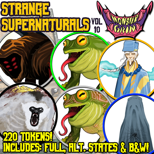 Strange Supernaturals, Vol. 10