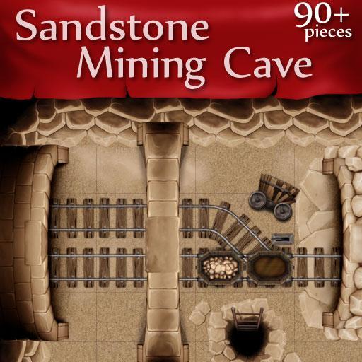 Sandstone Mining Cave