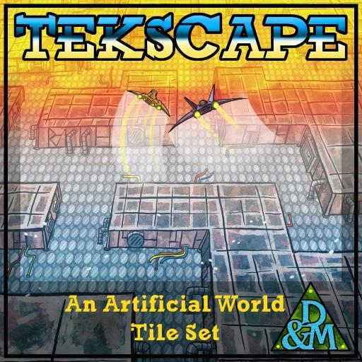 Tekscape - Terrain Tileset