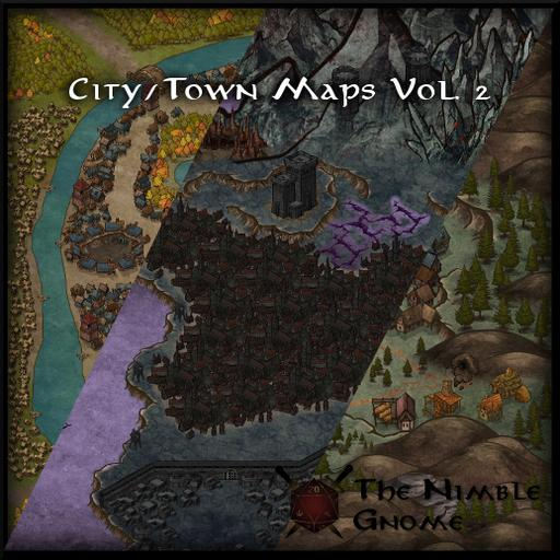 City & Town Maps Volume 2