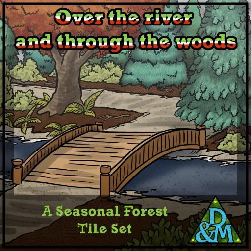 Seasonal Forest - Terrain Tileset