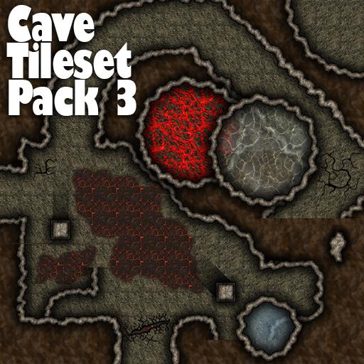 Cave Tile Set Pack 3