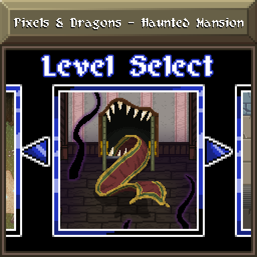 Pixels and Dragons - Haunted Mansion