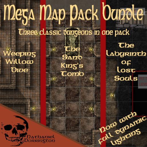Mega Map Pack Bundle