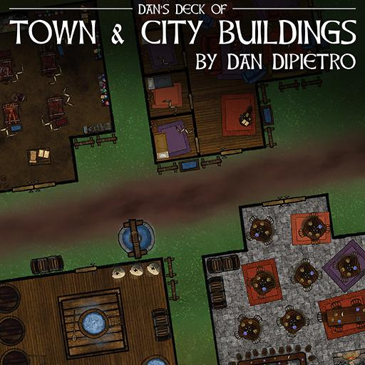 Dan's Deck of Town & City Buildings