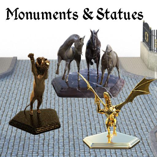 Monuments and Statues: Set 1