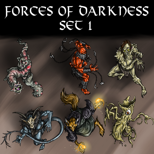 Forces of Darkness Set 1