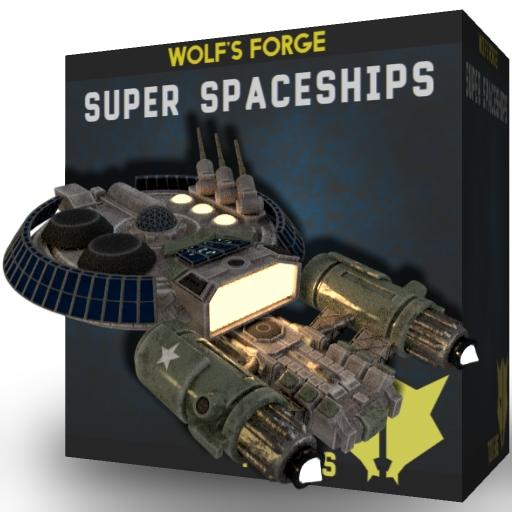 Super Spaceships Tokens