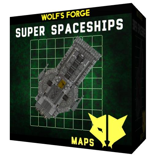 Super Spaceships SciFi Maps
