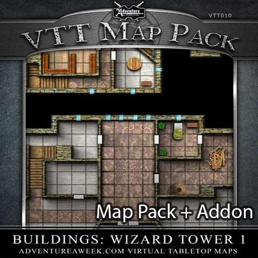 VTT Bundle: Wizard Tower