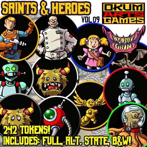 Saints & Heroes, Vol. 9
