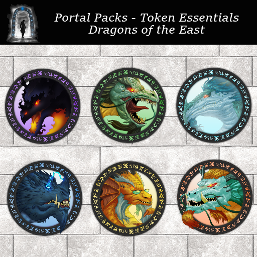 Portal Packs - Token Essentials - Dragons of the East