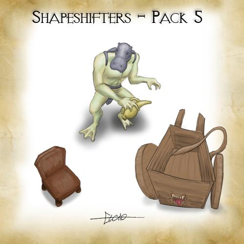 Shapeshifters Pack 5
