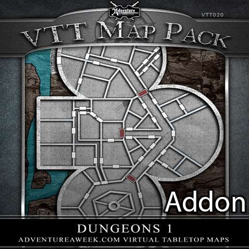 Dungeons 1 Map Addon