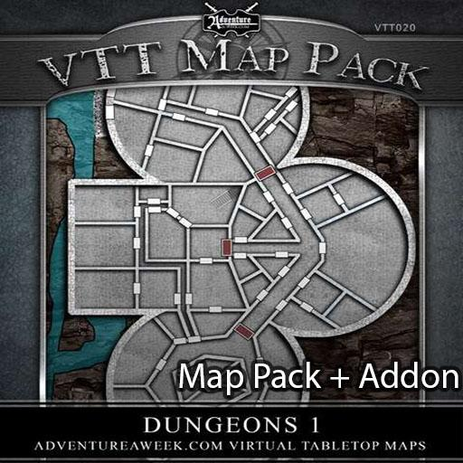 VTT Bundle: Dungeons 1
