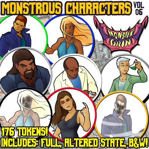 Monstrous Characters, Vol. 6