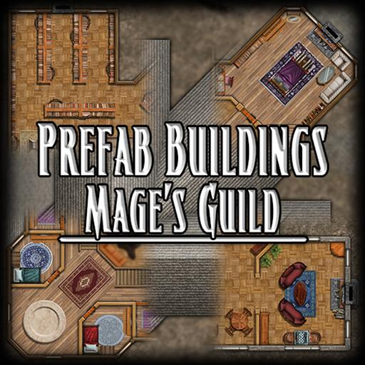 Prefab Buildings - Mage's Guild