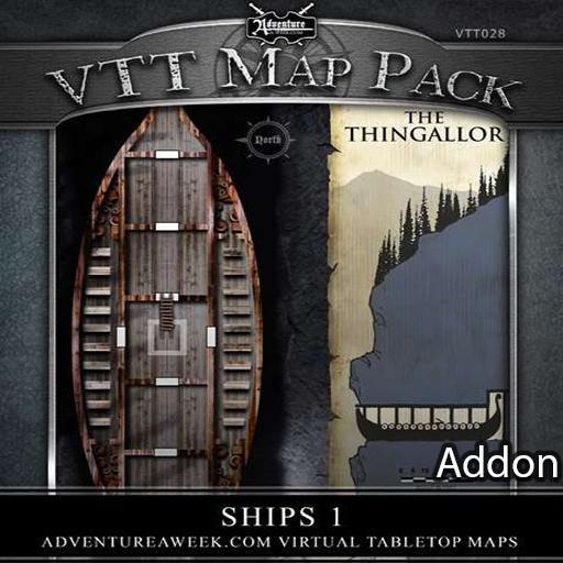 VTT Addon: Ships 1