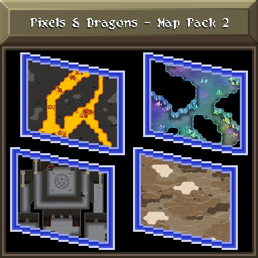 Pixels and Dragons - Map Pack 2