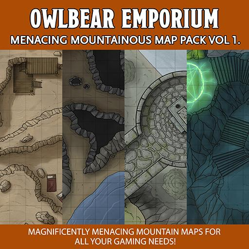 Menacing Mountainous Map Pack Volume1