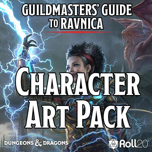 Guildmasters' Guide to Ravnica (Character Art Pack)