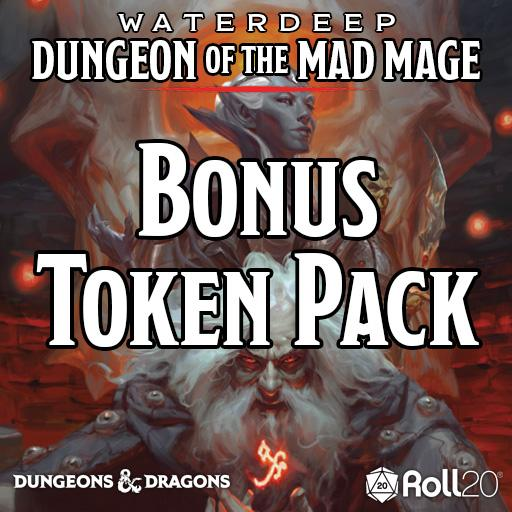 Waterdeep: Dungeon of the Mad Mage (Bonus Token Pack)