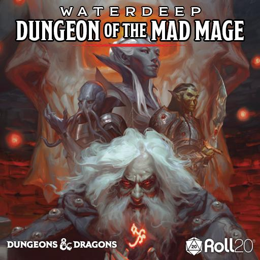 Waterdeep: Dungeon of the Mad Mage (Adventure Module)