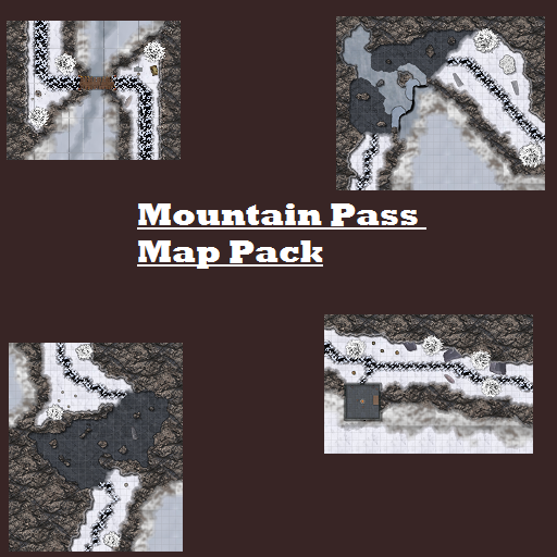 Mountain Pass Map Pack