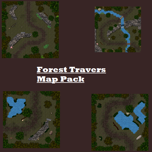 Forest Traverse Map Pack