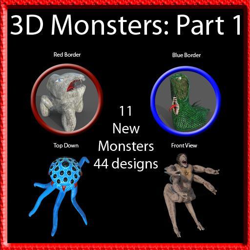 3D Monsters: Part 1