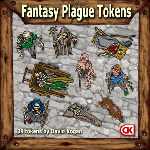Fantasy Plague Tokens