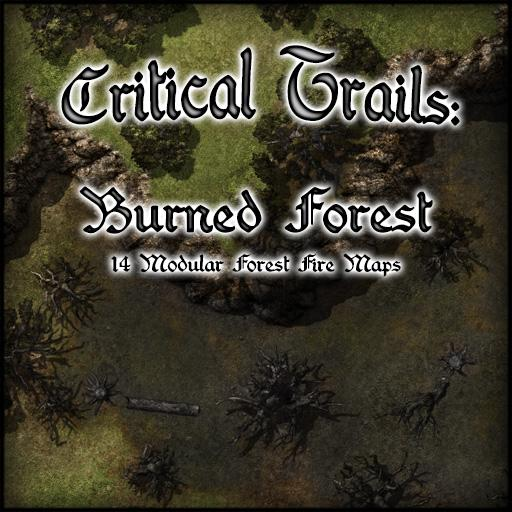 Critical Trails: Burned Forest